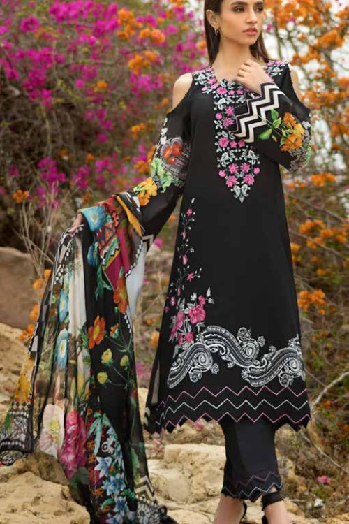 GulAhmed Mal Mal Collection SSM-24 GulAhmed Mal Mal Collection Vol 2 - Original best pakistani suits collection