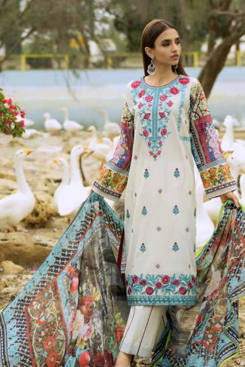 GulAhmed Mal Mal Collection SSM-25 RESTOCKED Best Sellers Restocked best pakistani suits collection