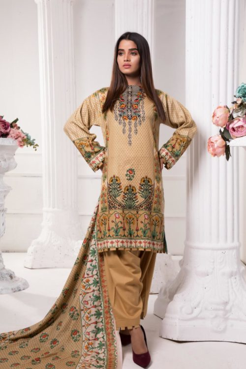 Sahil Pakistani Suit Printed Lawn RESTOCKED