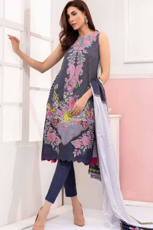 GulAhmed Mal Mal Collection CL-608A – RESTOCKED GulAhmed Mal Mal Collection Vol 2 - Original best pakistani suits collection