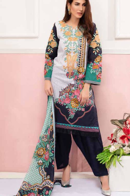 GulAhmed Mal Mal Collection CL-608B GulAhmed Mal Mal Collection Vol 2 - Original Best Sellers