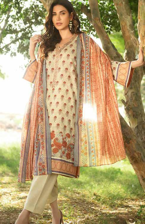 GulAhmed Mal Mal Collection CL-612A RESTOCKED GulAhmed Mal Mal Collection Vol 2 - Original best pakistani suits collection