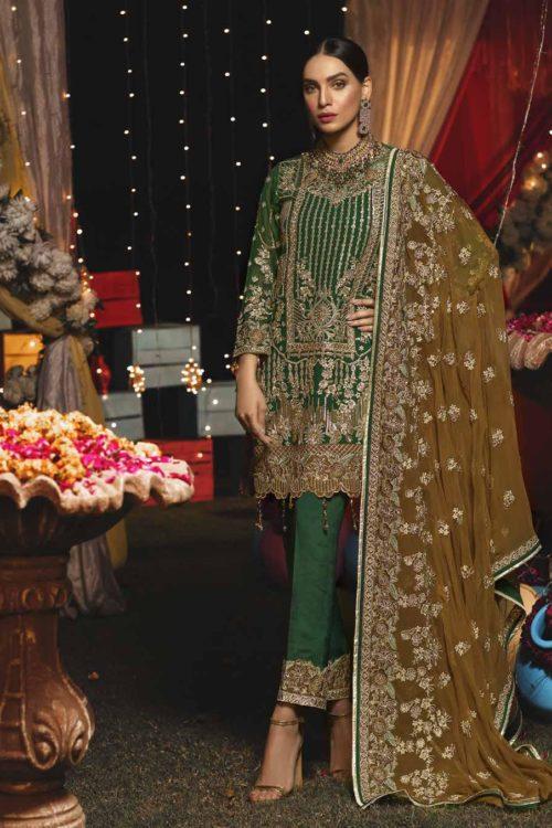 Emaan Adeel Luxury Chiffon EA-609 HOT