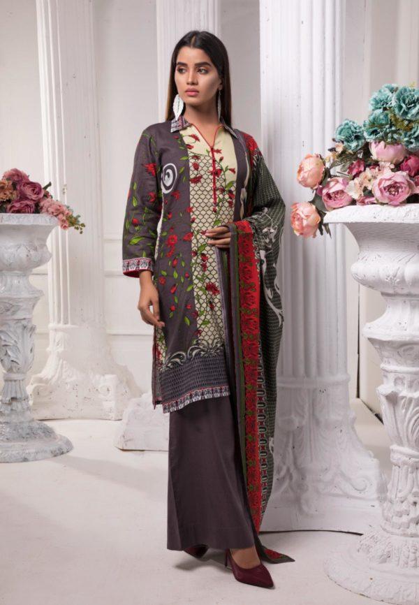 Sahil Pakistani Suit Printed Lawn RESTOCKED