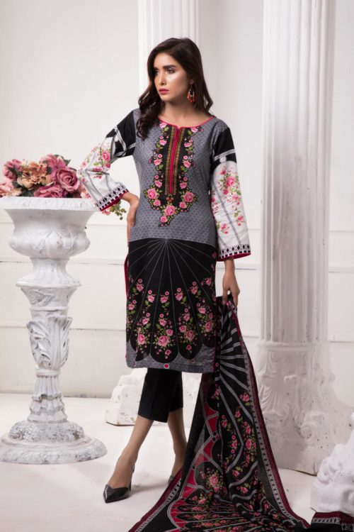 *On Sale* Sahil Pakistani Suit Printed Lawn RESTOCKED Lawn Dupatta Salwar Suits