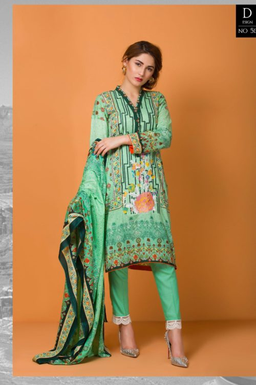 Libas Pakistani Lawn Suit Libas Embroidered Lawn Vol 2 - Original Lawn Dupatta Salwar Suits