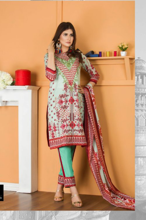 Libas Embroidered Lawn Vol 2 - Original Libas Pakistani Lawn Suit Lawn Dupatta Salwar Suits