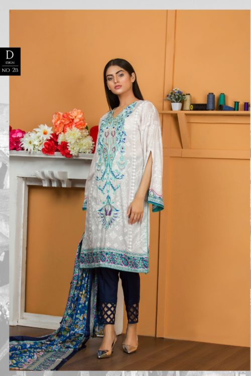 Libas Pakistani Lawn Suit Lawn - Reloaded Lawn Dupatta Salwar Suits