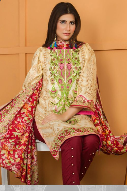 Libas Pakistani Lawn Suit Lawn - Reloaded best pakistani suits collection