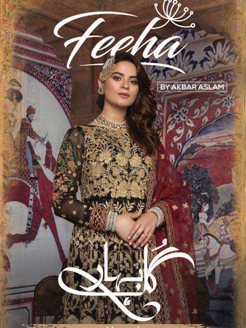 Akbar Aslam's Luxury Festive Chiffon - Original