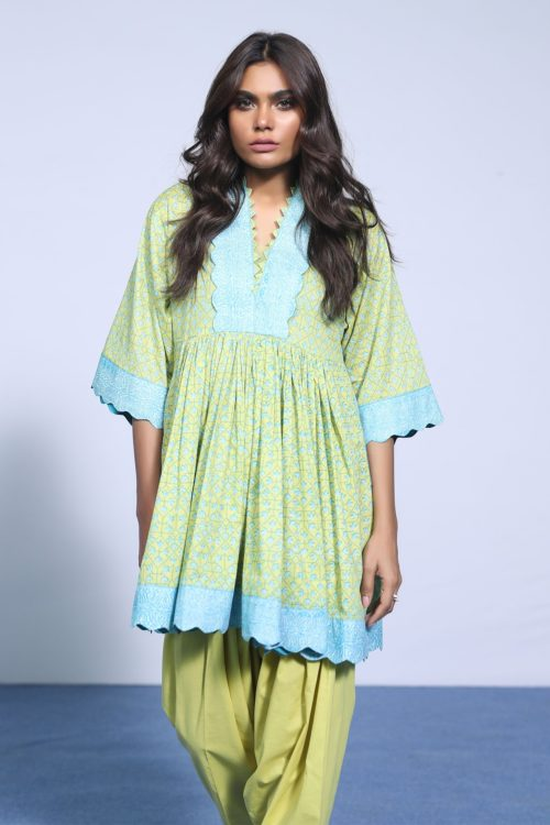 Alkaram Spring Summer Vol 2 SS-17.1-19-2-Green