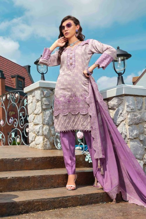 *Hot on Sale* Tawakkal Handloom Embroidered Jacquard – Exclusive HOT Chiffon Dupatta Salwar Suit