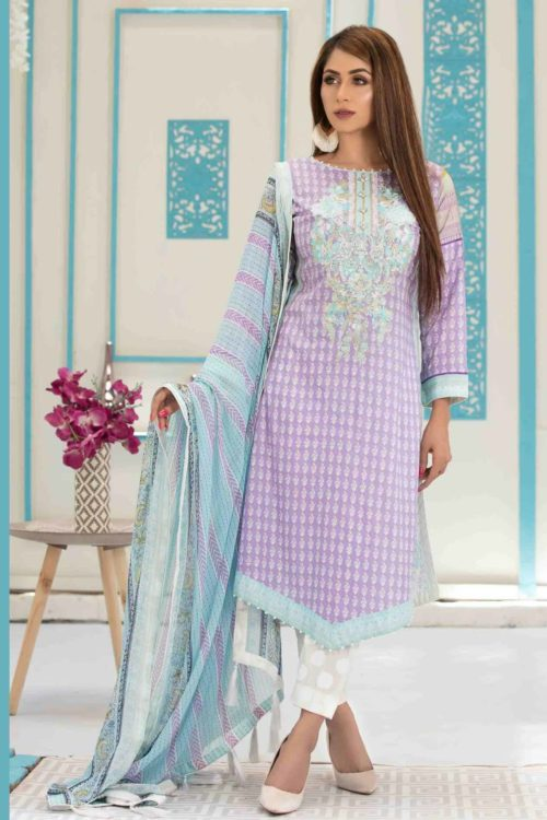 *Hot on Sale* Tawakkal Amna Sohail Bold New Summer Lawn HOT Lawn Dupatta Salwar Suits