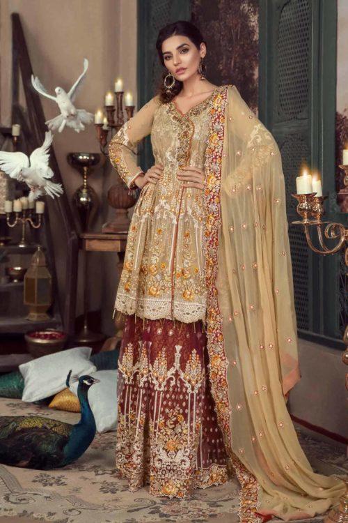 Maryam Gold Luxury Chiffon Vol 4