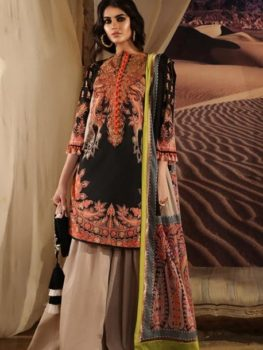 Mahay ' 19 Unstitched Collection by Sana Safinaz 12B