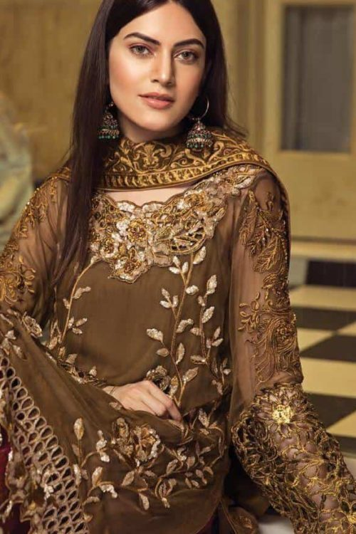 *Hot on Sale* Zircon by Zebtan HOT Chiffon Dupatta Salwar Suit