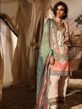 Mahay ' 19 Unstitched Collection by Sana Safinaz 10B