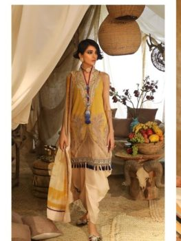 *Hot on Sale* Mahay ' 19 Unstitched Collection by Sana Safinaz 14A HOT best pakistani suits collection