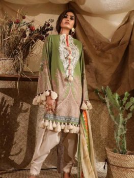 Mahay ' 19 Unstitched Collection by Sana Safinaz 14B