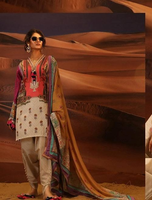 *Hot on Sale* Sana Safinaz Luxury Lawn'19 2A  – HOT eid shopping