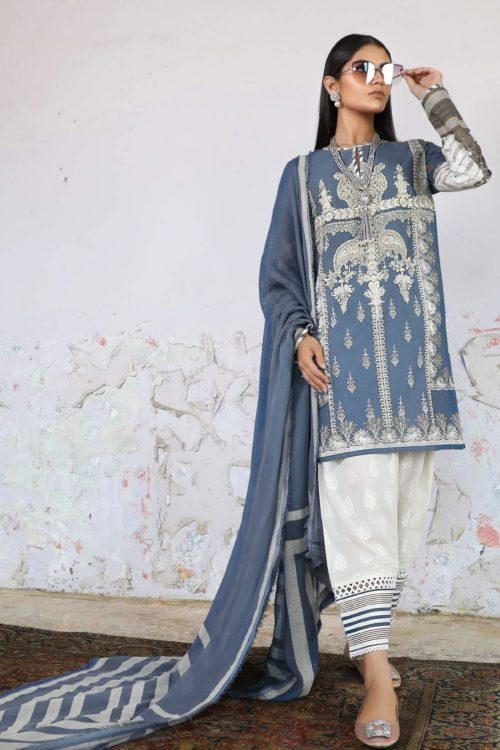 *On Sale* Sana Safinaz Kurnool Lawn 2A RESTOCKED Lawn Dupatta Salwar Suits