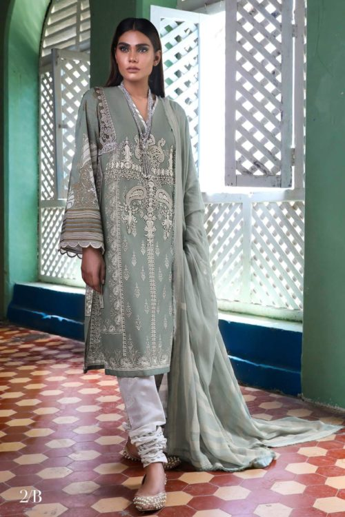 *On Sale* Sana Safinaz Kurnool Lawn 2B Lawn Dupatta Salwar Suits