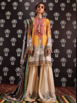 *On Sale* Mahay ' 19 Unstitched Collection by Sana Safinaz 8A RESTOCKED best pakistani suits collection