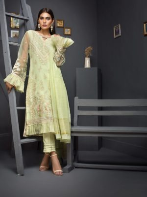 Kalyan Festive Chiffon Embroidered