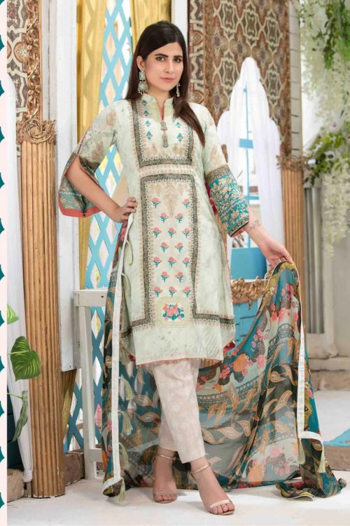 *On Sale* Tawakkal Amna Sohail Bold New Summer Lawn Lawn Dupatta Salwar Suits