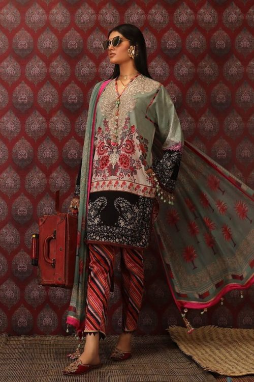 Mahay ' 19 Unstitched Collection by Sana Safinaz - Original