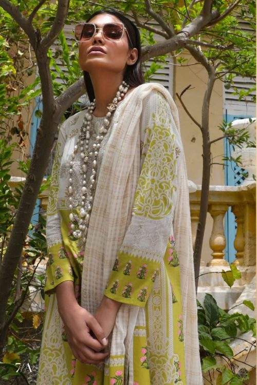 *Hot on Sale* Sana Safinaz Kurnool Lawn 7A  –  HOT Lawn Dupatta Salwar Suits