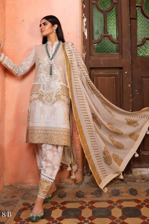 *Hot on Sale* Sana Safinaz Kurnool Lawn 8B HOT Lawn Dupatta Salwar Suits