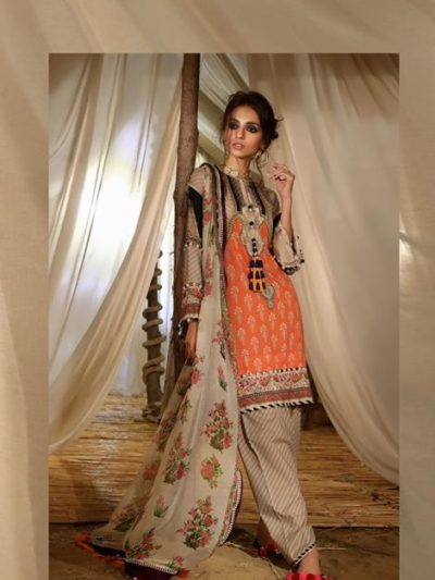 *On Sale* Mahay ' 19 Unstitched Collection by Sana Safinaz 15A RESTOCKED best pakistani suits collection