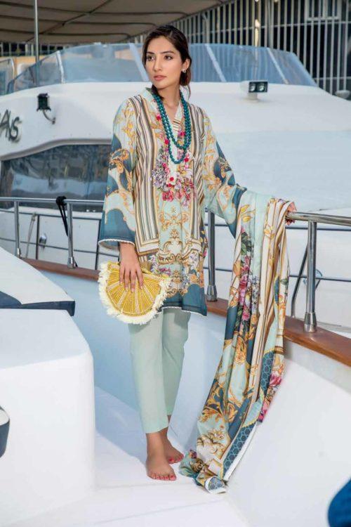Firdous Pakistani Suit Urbane Lawn (31)