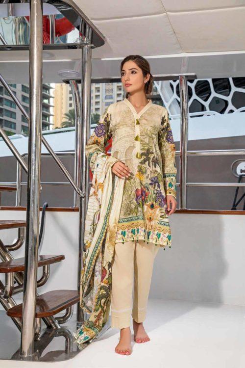 Firdous Pakistani Suit Urbane Lawn (33)