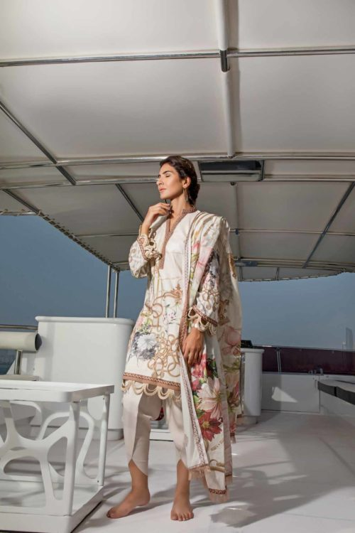 Firdous Pakistani Suit Urbane Lawn (50)