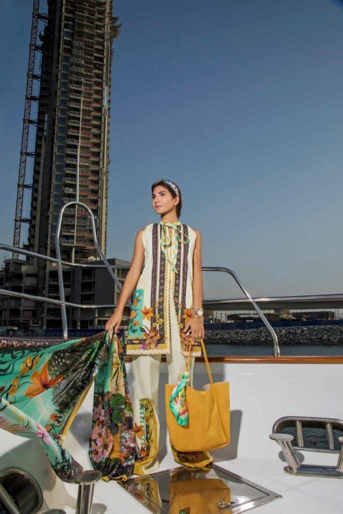 Firdous Pakistani Suit Urbane Lawn (56)