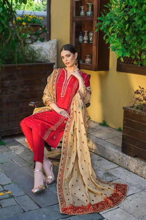 *Hot on Sale* Gul Ahmed Eid ul Azha – Rasm Collection 2019 – EA 71 Gul Ahmed