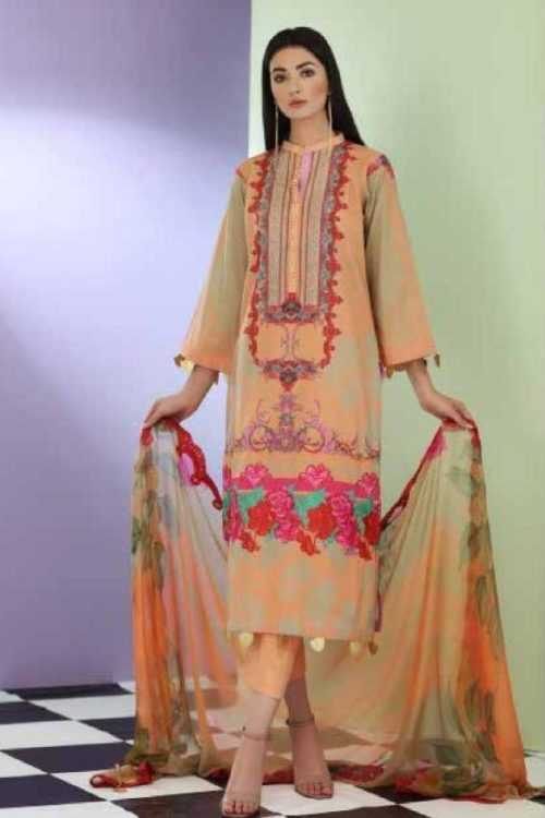 Charizma Sheen from House of Charizma Charizma Pakistani Suits