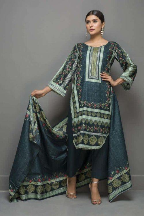 Sahil Pakistani Suit Printed Lawn