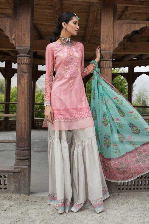 *On Sale* MARIAB MPRINTS KATPANA 1B Chiffon Dupatta Salwar Suit