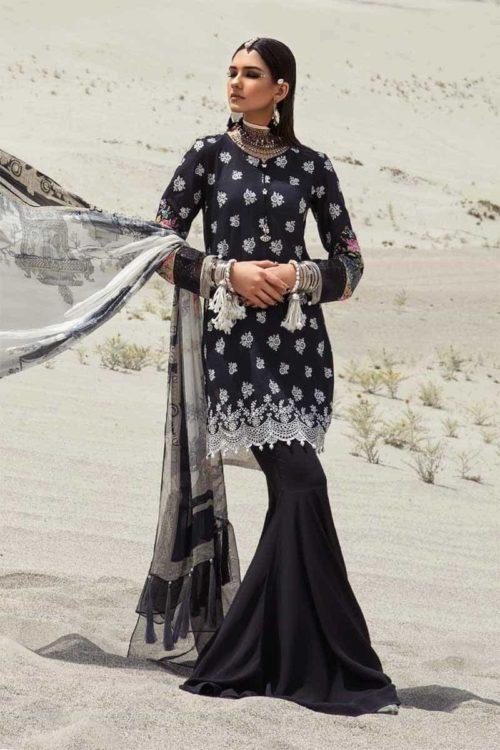 *On Sale* MARIAB MPRINTS KATPANA 4B RESTOCKED Chiffon Dupatta Salwar Suit