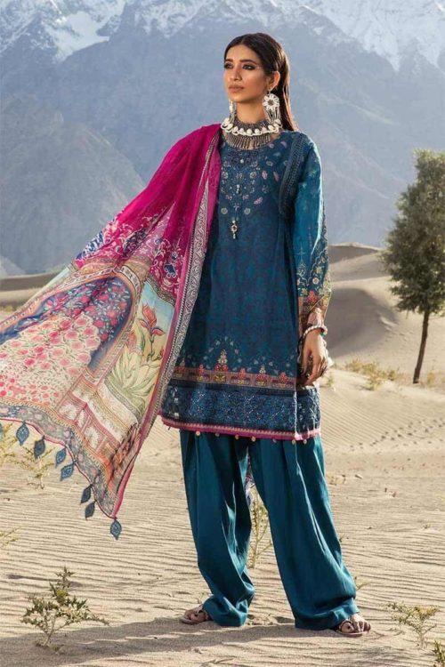 *On Sale* MARIAB MPRINTS KATPANA 5B best pakistani suits collection