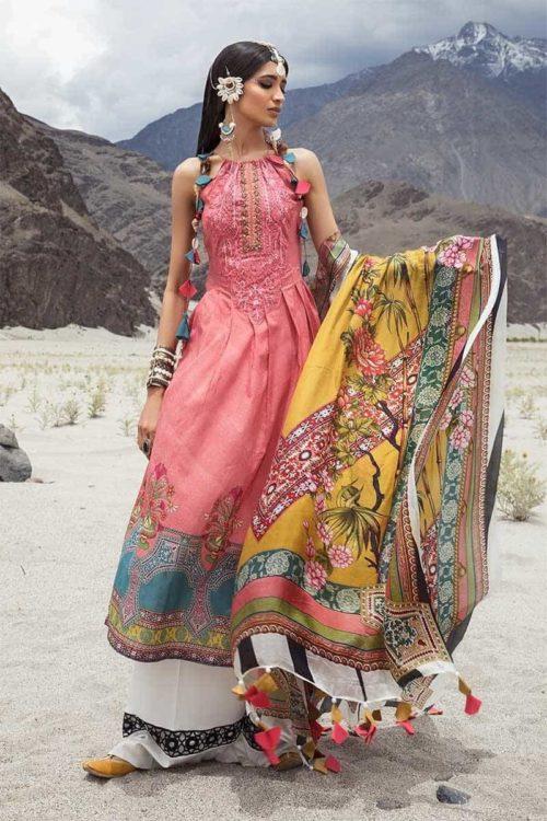 *On Sale* MARIAB MPRINTS KATPANA 6A RESTOCKED Lawn Dupatta Salwar Suits