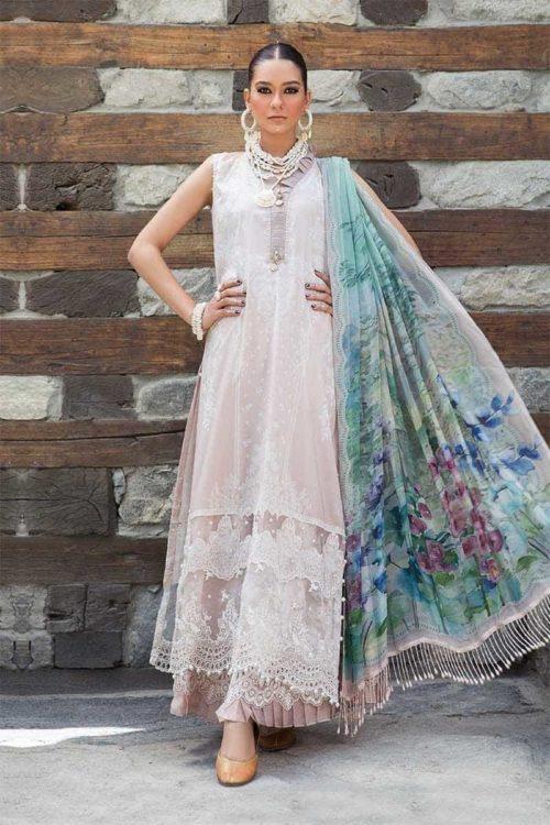 *On Sale* MARIAB MPRINTS KATPANA 7A RESTOCKED Chiffon Dupatta Salwar Suit