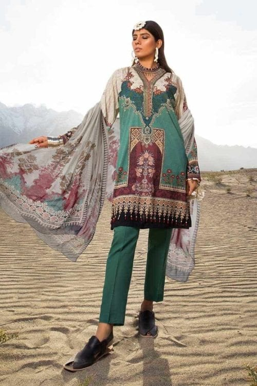 *Hot on Sale* MARIAB MPRINTS KATPANA 8A –  FSTN HOT best pakistani suits collection