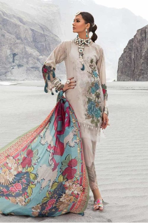 *On Sale* MARIAB MPRINTS KATPANA 9A RESTOCKED best pakistani suits collection