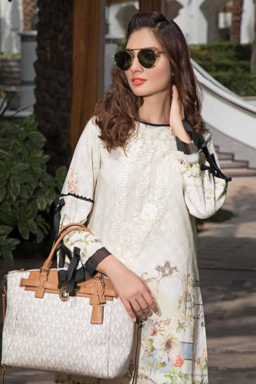 Solitaire Kurti from Firdous The Classic Digital Edition - Vol 2 - Original