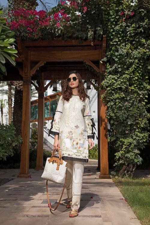 *On Sale* Solitaire Kurti from Firdous The Classic Digital Edition – Vol 2  Design 19280 RESTOCKED best pakistani suits collection