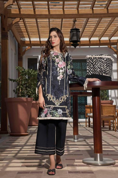 *On Sale* Solitaire Kurti from Firdous The Classic Digital Edition – Vol 2  Design 19317 RESTOCKED Firdous Pakistani Suits